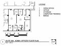 Suite 308 - Admin Offices Floor Plan