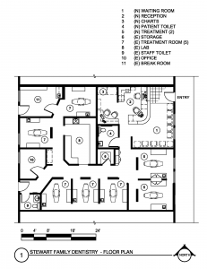 Stewart Family Dentistry Floor Plan